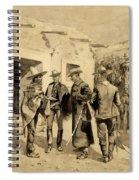 U. S. Cavalry Hunting Garza Men On The Rio Grande Spiral Notebook
