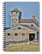 U S Lifesaving Station Spiral Notebook