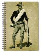U. S. Soldier, Spanish-american War Spiral Notebook