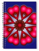 u021 Eightfold Path Spiral Notebook