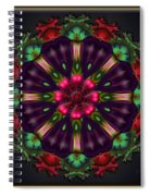 u028 Wholehearted Hibiscus Spiral Notebook