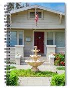 Suburban Arts And Crafts Hayward California 18 Spiral Notebook