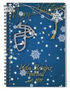 Ucla Bruins Christmas Card Spiral Notebook