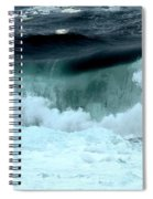 Ucluelet Breaking Waves Spiral Notebook