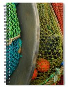Ucluelet Fishing Nets Spiral Notebook