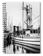 Ucluelet Harbour - Vancouver Island Bc Spiral Notebook