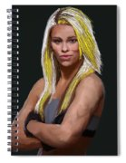 Ufc Fighter Paige Van Zant Spiral Notebook