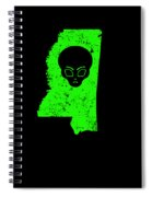 Ufo Abduction Extraterrestrial Archaeology Mississippi Spiral Notebook