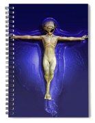 Holy Ufo Spiral Notebook