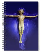 Holy Ufo Spiral Notebook