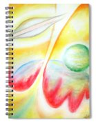 Ufo. Flight Through Time Spiral Notebook