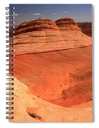 Ufo In Coyote Buttes Spiral Notebook