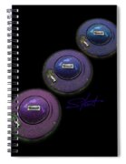 Ufo Strut Spiral Notebook