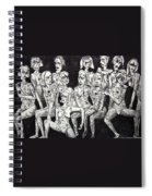 Ugly Girls Spiral Notebook