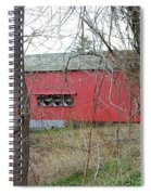 Uhlerstown Covered Bridge Spiral Notebook