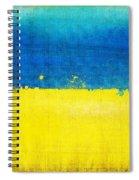 Ukraine Flag Spiral Notebook