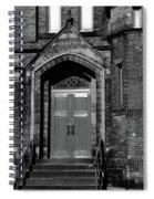 Ukrainian Catholic Church Bw Spiral Notebook