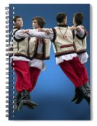 Ukrainian Dancers Spiral Notebook