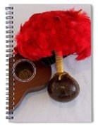 Ukulele And Uliuli Spiral Notebook
