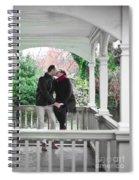 Ula And Wojtek Engagement 11 Spiral Notebook