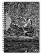 Ula And Wojtek Engagement 16 Spiral Notebook
