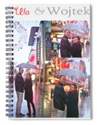 Ula And Wojtek Engagement 2 Spiral Notebook