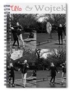 Ula And Wojtek Engagement 3 Spiral Notebook