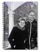 Ula And Wojtek Engagement 6 Spiral Notebook