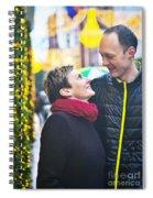 Ula And Wojtek Engagement 9  Spiral Notebook