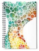 Ultra Modern Art - Colorforms 2 - Sharon Cummings Spiral Notebook
