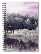 Ultraviolet Gazebo Spiral Notebook
