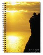 Uluwatu Temple Spiral Notebook