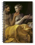 Ulysses And Penelope Spiral Notebook