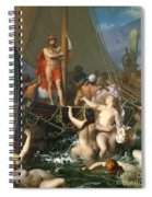 Ulysses And The Sirens Spiral Notebook