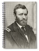 Ulysses S. Grant, 1822 To 1885. Union Spiral Notebook