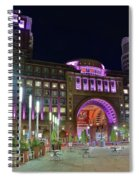 Umass Night Image Spiral Notebook