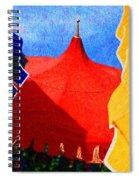 Umbrella Party Spiral Notebook