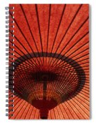 Umbrella Spiral Notebook