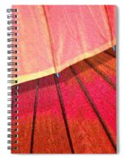 Umbrella Sunrise Spiral Notebook