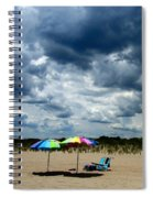 Umbrellas Spiral Notebook