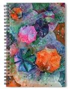 Umbrellas Spiral Notebook