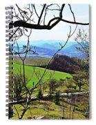 Umbria Mountains Spiral Notebook