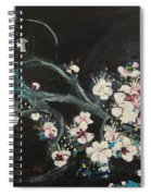Ume Blossoms2 Spiral Notebook
