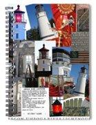 Umpqua River Lighthouse Collection Spiral Notebook