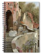 Un Caffe Al Fresco Sulla Salita Spiral Notebook