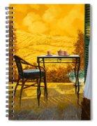 Un Caldo Pomeriggio D Spiral Notebook