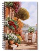 Una Sedia In Attesa Spiral Notebook