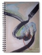 Unaccustomed Thought-abstract Art Spiral Notebook