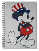 Uncle Mickey Spiral Notebook
