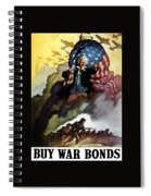 Uncle Sam - Buy War Bonds Spiral Notebook